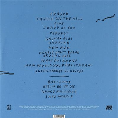 Ed Sheeran Divide Vinyl Record