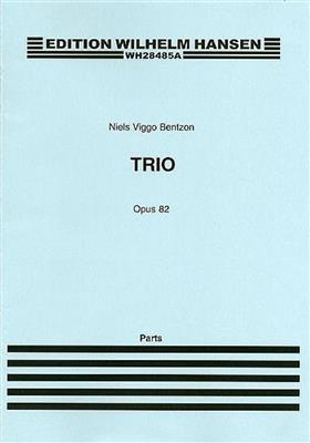 Niels Viggo Bentzon: Brass Trio Op. 82: Brass Ensemble