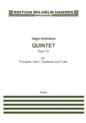 Vagn Holmboe: Brass Quintet Op.79: Brass Ensemble