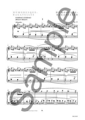 Carl Nielsen: Humoresque-Bagatelles Op.11: Piano or Keyboard