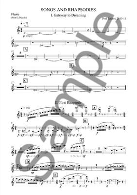 Poul Ruders: Songs and Rhapsodies for Accordion - Wind Quintet: Wind Ensemble
