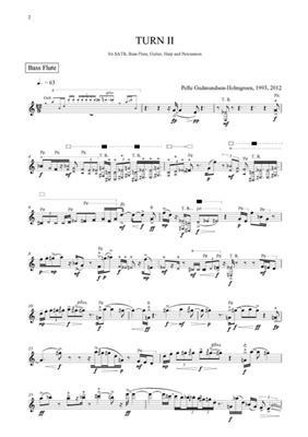 Pelle Gudmundsen-Holmgreen: Turn II: Mixed Choir
